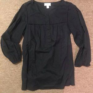Lightweight Long Sleeve Cotton Blouse